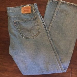 Levi's 505 straight fit size 36–34